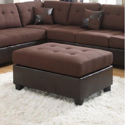 Roundhill Furniture Ellus Ottoman