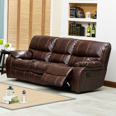 Roundhill Furniture Ewa Double Reclining Sofa
