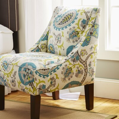 Bungalow Rose Heady Swoop Ladbroke Upholstered Arm Chair
