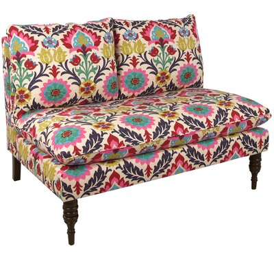 Bungalow Rose Bineau Multi Colored Loveseat