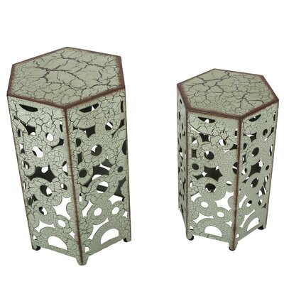 Bungalow Rose Taylor 2 Piece Nesting Tables