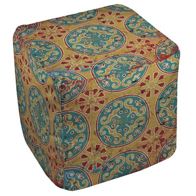 Bungalow Rose Lankershim Medallion Ottoman