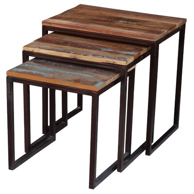 Bungalow Rose Zara 3 Piece Nesting Tables