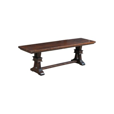 Bungalow Rose Lerma Wood Kitchen Bench