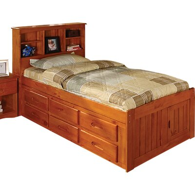Viv + Rae Kaitlyn Captain Twin Bed with Storage and Trundle