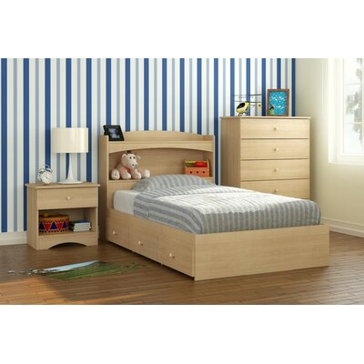 Red Barrel Studio Brook Hollow Twin Platform Customizable Bedroom Set