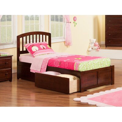 Viv + Rae Timmy Extra Long Twin Slat Bed with Storage