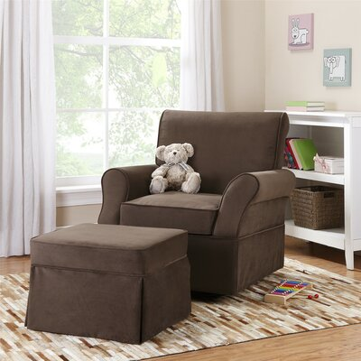 Viv + Rae Kimberley Swivel Glider and Ottoman