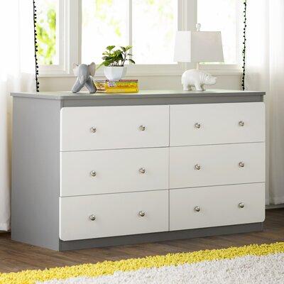 Viv + Rae Wes 6 Drawer Double Dresser