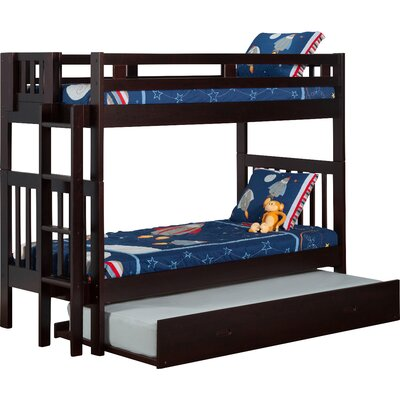 Viv + Rae Twin Bunk Bed with Trundle