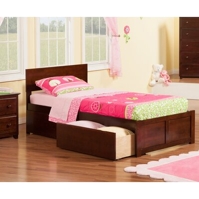 Viv + Rae Mathias Extra Long Twin Panel Bed with Storage
