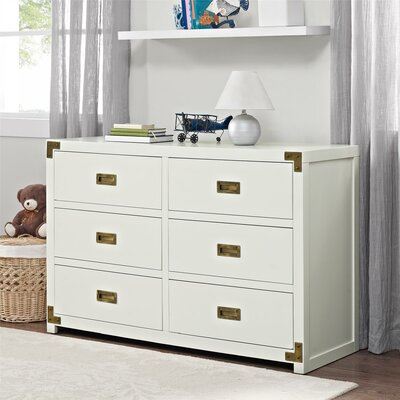Viv + Rae Agostino 6 Drawer Double Dresser