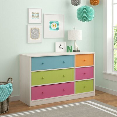 Viv + Rae Brooke 6 Drawer Dresser