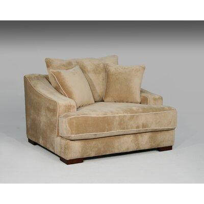 Sage Avenue Cameron Chair and a Half and Ottoman
