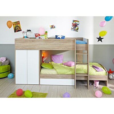 Parisot Stim Twin Over Twin Bunk Bed