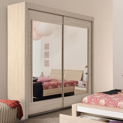 Parisot Mallow 2 Door Wardrobe Armoire