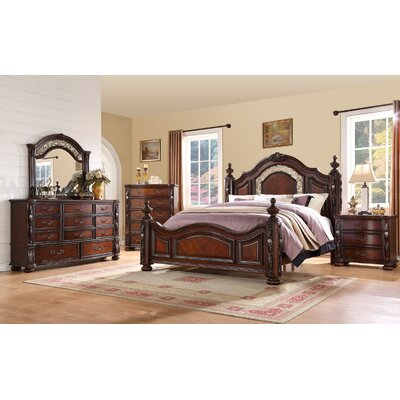 Fairfax Home Collections Verona Panel Customizable Bedroom Set