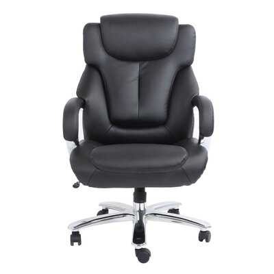 Comfort Products Admiral III Big and Tall High-Back Leather Executive Chair