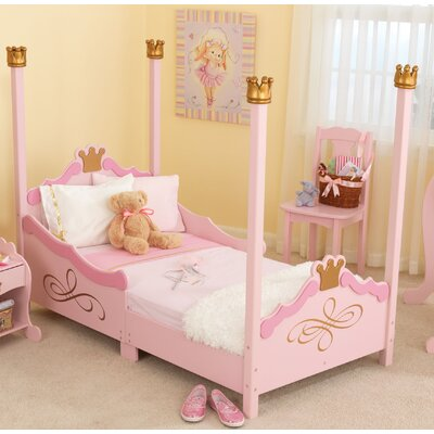 KidKraft Princess Toddler Four Poster Bed