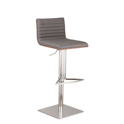 Armen Living Café Adjustable Height Swivel ..