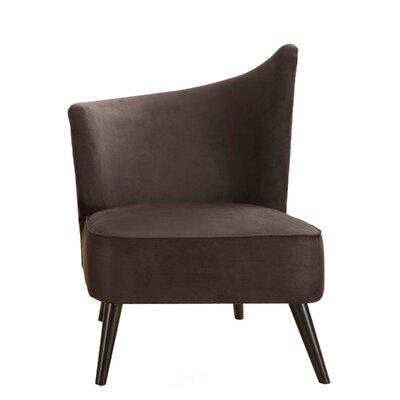Armen Living Stage Door Elegant Left Side Chair