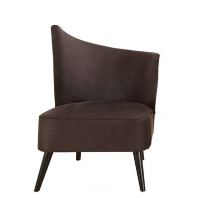 Armen Living Stage Door Elegant Right Side Chair
