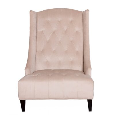 Sands Textiles Bombay Tufted Wingback Chair