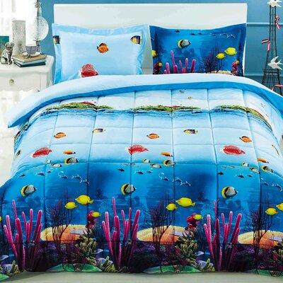 Homechoice international group comforter set reviews for Fish bedding twin
