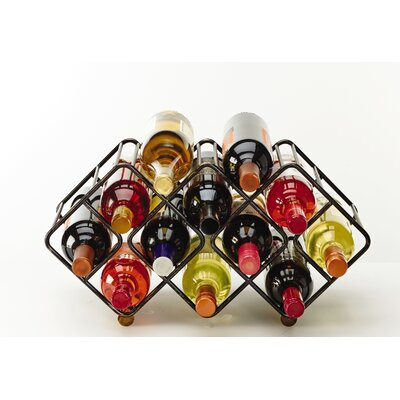 Gourmet Basics by Mikasa 12 Bottle Tabletop Wine Rack