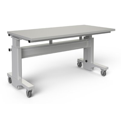 BOSTONtec Manual Height Adjustable Workstation