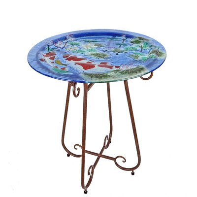 Continental Art Center Koi Pond Bistro Table