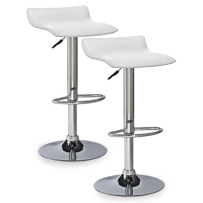 Leick Furniture Adjustable Height Swivel Bar Stool (Set of 2)