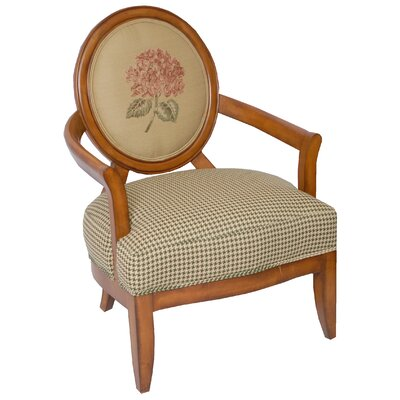 Carolina Accents Madison Fabric Arm Chair