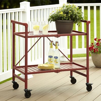Breakwater Bay East Blue Hill Serving Cart