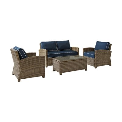 Breakwater Bay Middlesex 4 Piece Deep Seating Group with Cushion   Reviews    WayfairBreakwater Bay Middlesex 4 Piece Deep Seating Group with Cushion  . Patio Furniture Cushions Deep Seating. Home Design Ideas