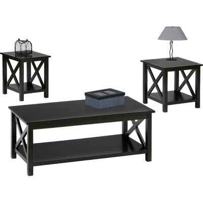 Breakwater Bay Deakyneville 3 Piece Coffee Table Set