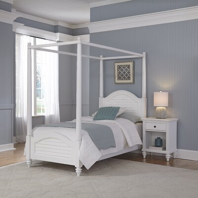 Breakwater Bay Kenduskeag Canopy 2 Piece Bedroom Set