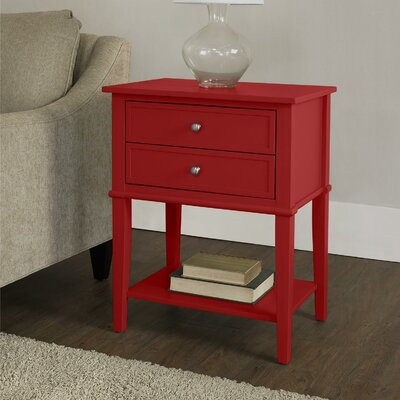 Breakwater Bay Banbury 2 Drawer End Table