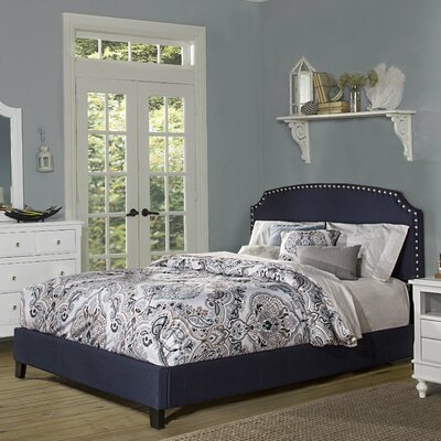 Breakwater Bay Stewart Upholstered Panel Bed