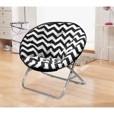Urban Shop Chevron Saucer Papasan Chair