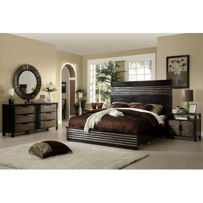 Eastern Legends Transitions Platform Customizable Bedroom Set