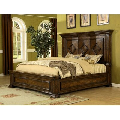 Eastern Legends Verona Eastern King Panel Bed