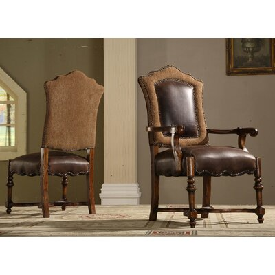 Eastern Legends Burgundy Arm Chair (Set of 2)