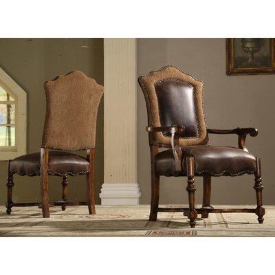 Eastern Legends Burgundy Arm Chair (Set o..