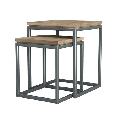 ASTA Home Furnishing Simplicity 2 Piece Nesting Tables