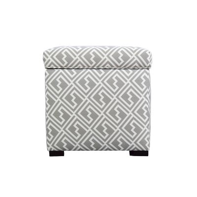 MJL Furniture Tami Shakes Square Storage Ottoman