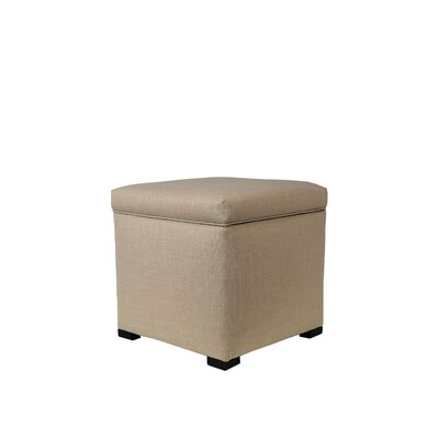 MJL Furniture Tami Upholstered Storage Ottoman