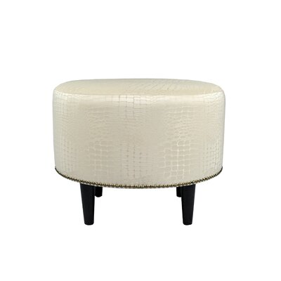 MJL Furniture Tillie Upholstered Ottoman