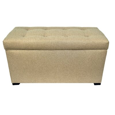 MJL Furniture Allure Upholstered Storage Bedroom Bench