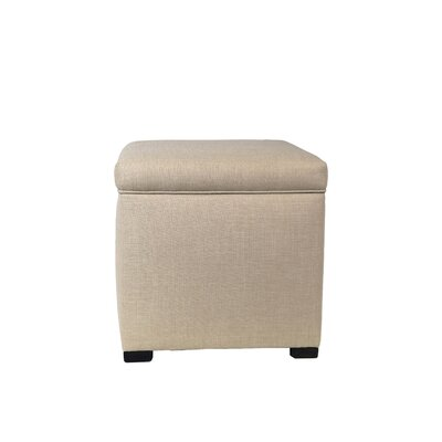 MJL Furniture Sachi Mini Sole Secret Shoe Storage Ottoman